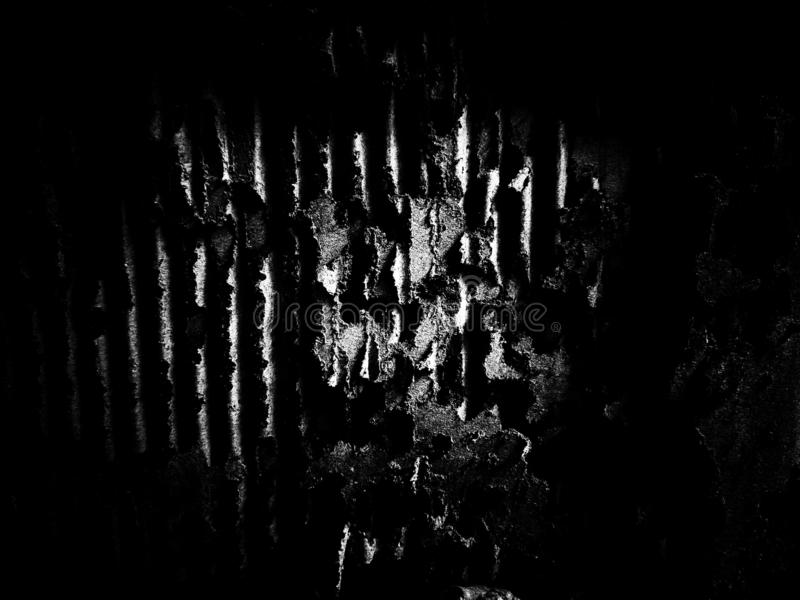 Dark grunge damaged cardboard texture. Black and white, so contrast and grainy stock photos