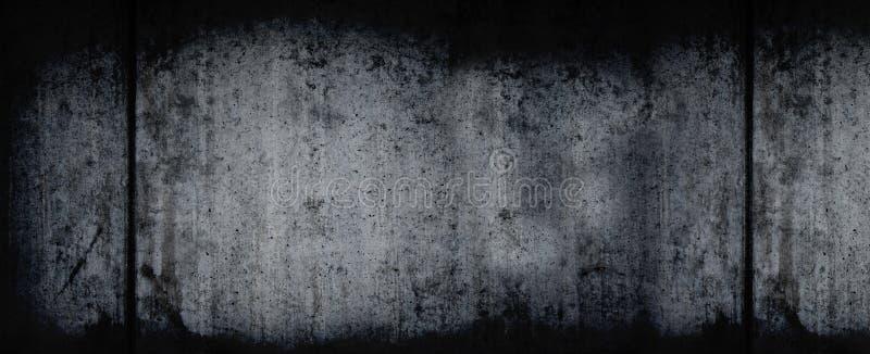 Dark Grunge Horizontal Background stock image