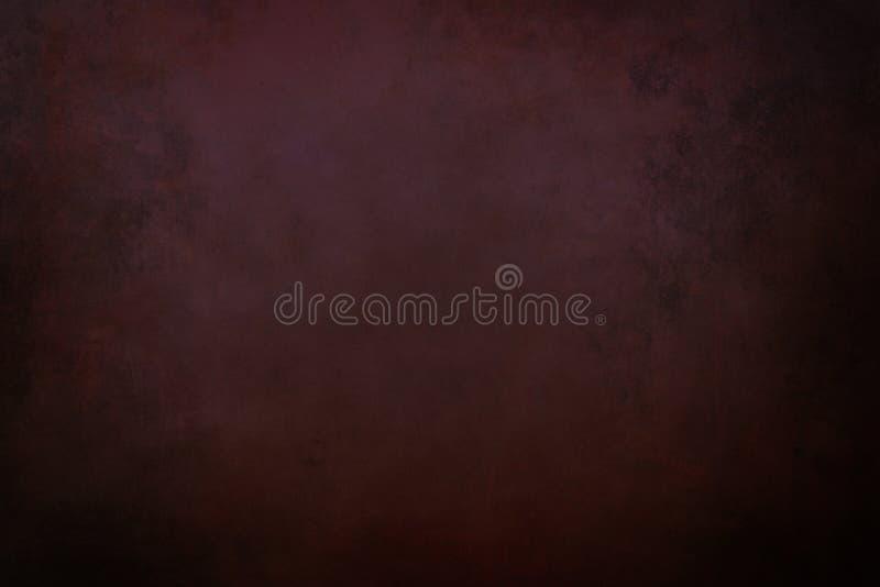 Dark grunge reddish background stock photography