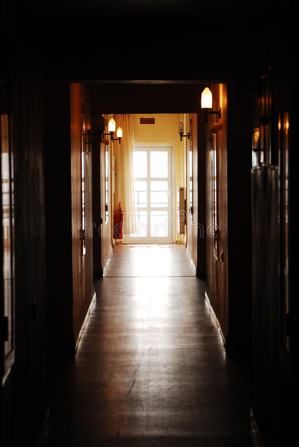 Download Dark hall stock image. Image of closed, building, close - 12801273