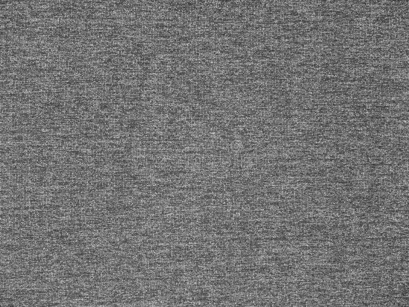 Dark heather gray knitwear fabric texture stock photo