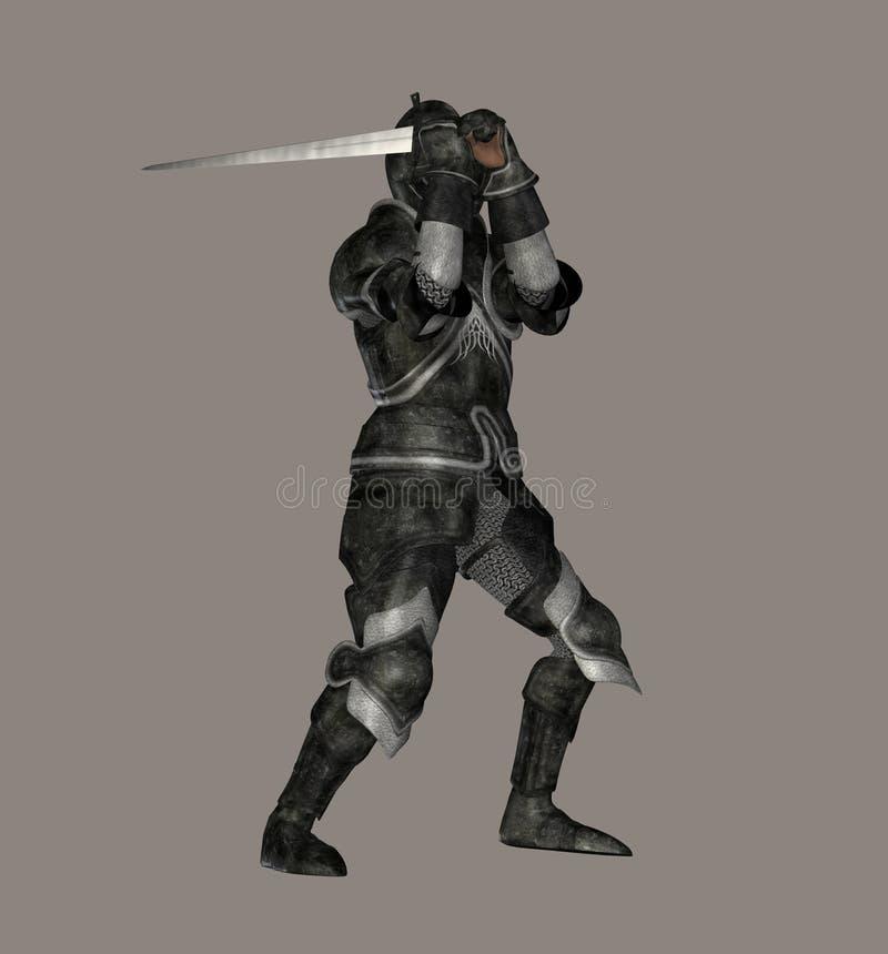 Download Dark Knight stock illustration. Image of horseman, heraldic - 3800530