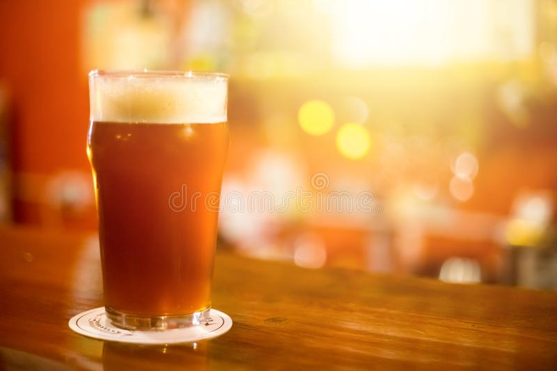 Craft beer royalty free stock photo