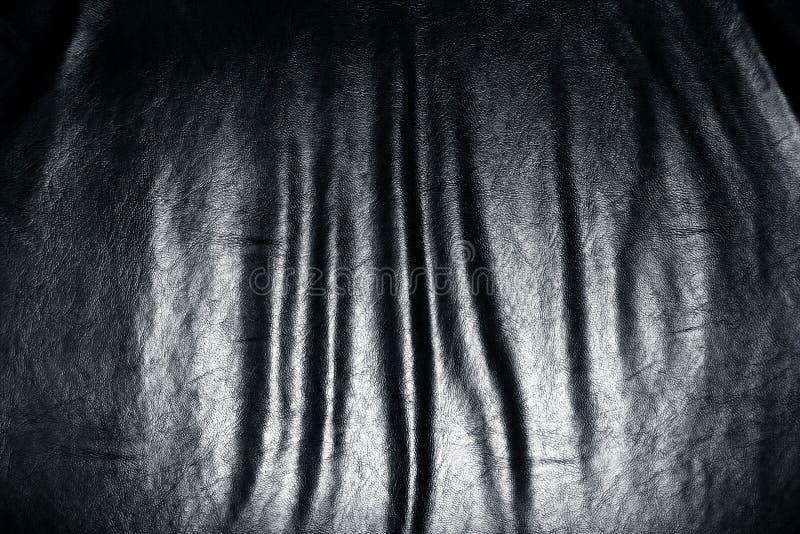 Dark Leather Folds Stock Photo Image Of Objects Sofa