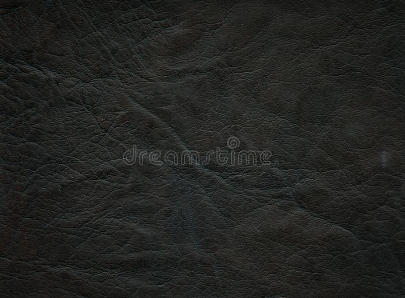 Dark leather texture royalty free stock photo