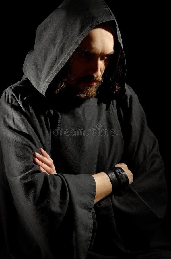 Free Dark Medieval Monk Stock Photos - 27279923