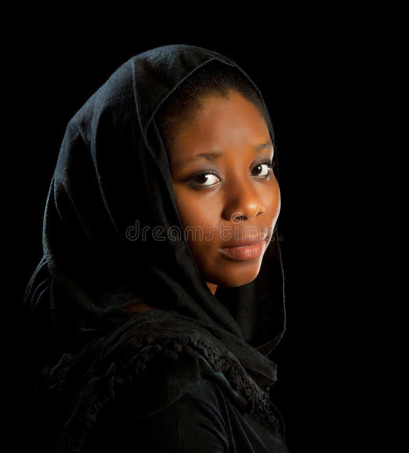 Download Dark melancholy stock image. Image of people, african - 22383035