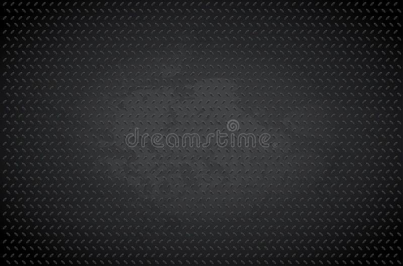 Dark metal background stock image