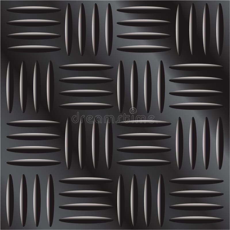 Download Dark Metal Diamond Hatch Background Texture Stock Vector - Illustration: 8530541
