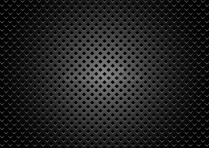 dark metal texture background stock vector illustration