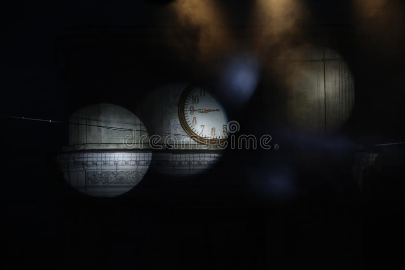 Dark in moldova, night chisinau,. Corruption, moldova, oligarch, clock, countdown, crisis in moldova, the ark of triumph, P.M.A.N., center of moldova, dark royalty free stock images