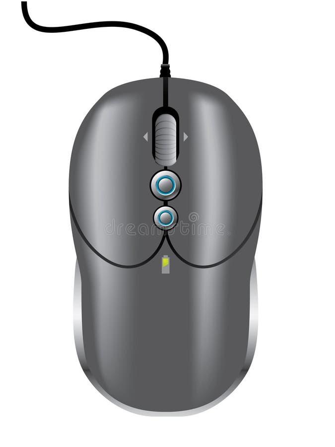 Download Dark mouse stock vector. Image of concept, futuristic - 15533539