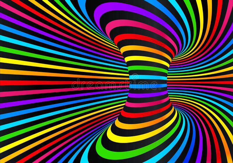 Dark Neon Rainbow Colors Vector Abstract Disco Background Stock Vector Illustration Of Energy Circle 93288099
