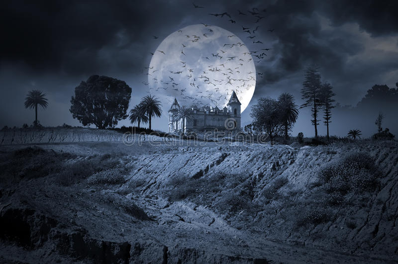 Download Dark Night stock illustration. Illustration of horror - 32948997