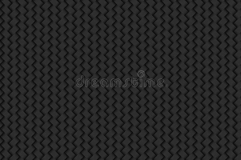 Dark noble background effect woven abstract texture seamless pat vector illustration