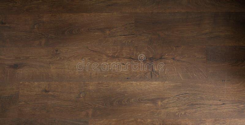 Dark oak floor. wooden floor, oak parquet - wood flooring, oak laminate royalty free stock photography