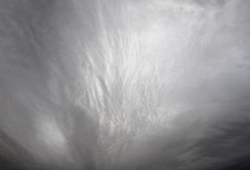 Dark, ominous rain clouds. Dark, ominous rain clouds, may be used as background royalty free stock photo