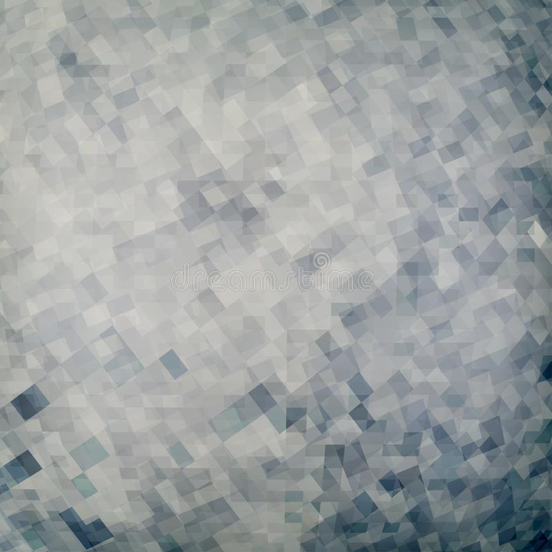 Dark pattern with chaotic pixels on gray. Colorless graphics. Abstract dark pattern with chaotic pixels on gray background. Colorless vector graphic vector illustration