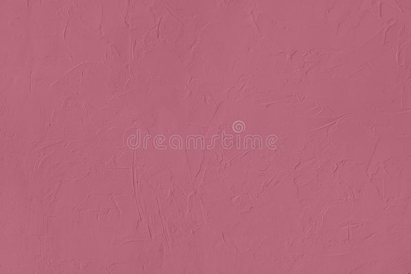 Dark pink colored low contrast Concrete textured background with roughness and irregularities. To your concept or product, abstract, backgrounds, building royalty free stock photos