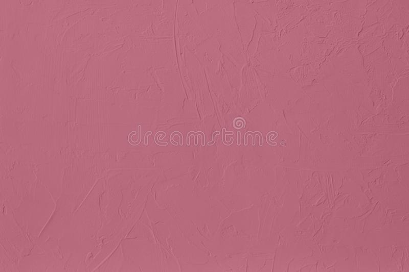 Dark pink colored low contrast Concrete textured background with roughness and irregularities. To your concept or product, abstract, backgrounds, building royalty free stock images