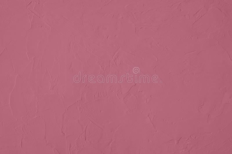 Dark pink colored low contrast Concrete textured background with roughness and irregularities. To your concept or product, abstract, backgrounds, building stock photo