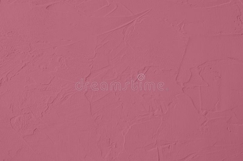 Dark pink colored low contrast Concrete textured background with roughness and irregularities. To your concept or product, abstract, backgrounds, building royalty free stock photo