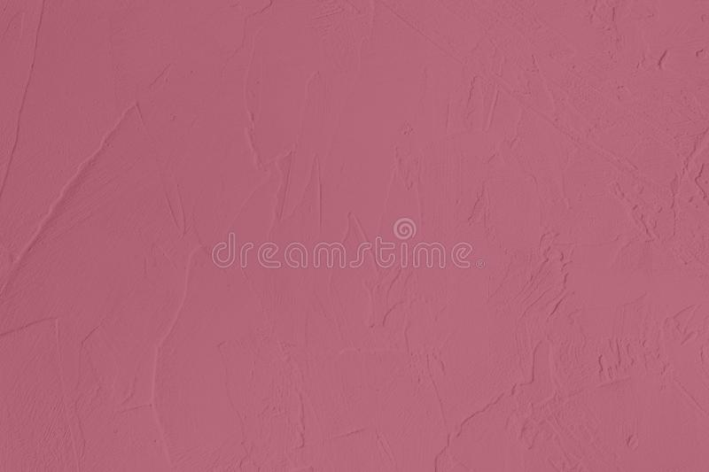 Dark pink colored low contrast Concrete textured background with roughness and irregularities. To your concept or product, abstract, backgrounds, building stock photography