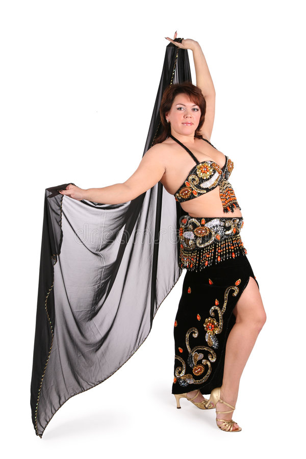 Download Dark Plump Belly Dance Royalty Free Stock Photography - Image: 3683257