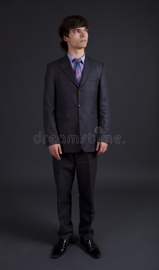 Download Dark portrait of a man stock image. Image of manager - 12318079