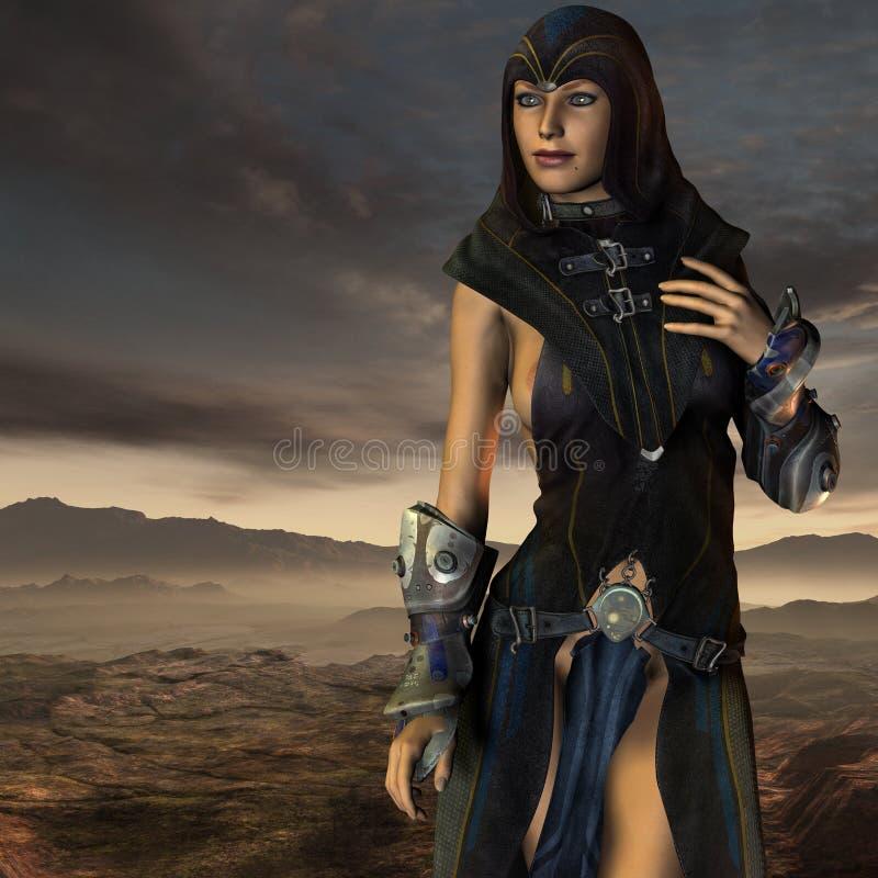 Dark Priestess Stock Images