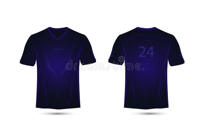 Dark Purple Lines Layout Technology Concept Football Sport