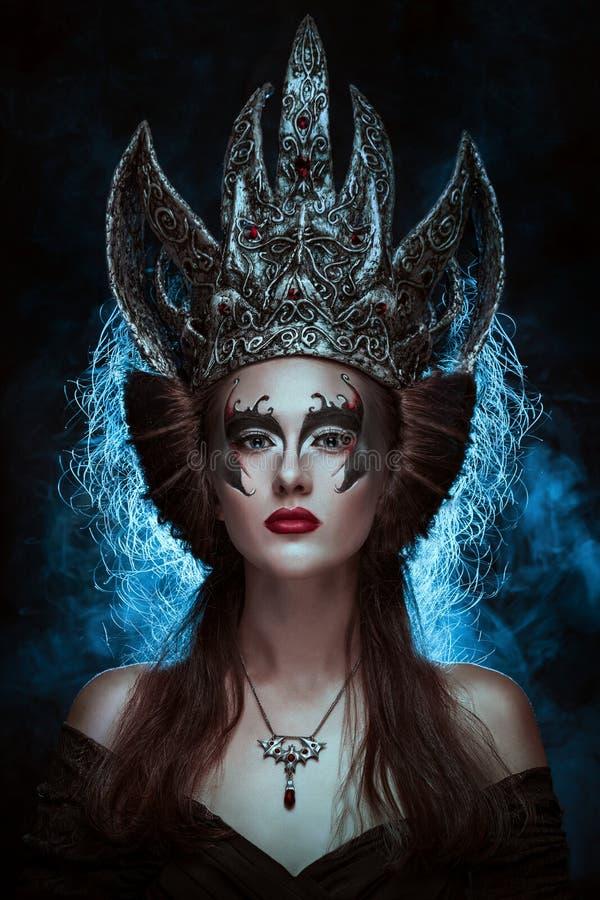 Download Dark queen stock image. Image of attractive, makeup, female - 29459625