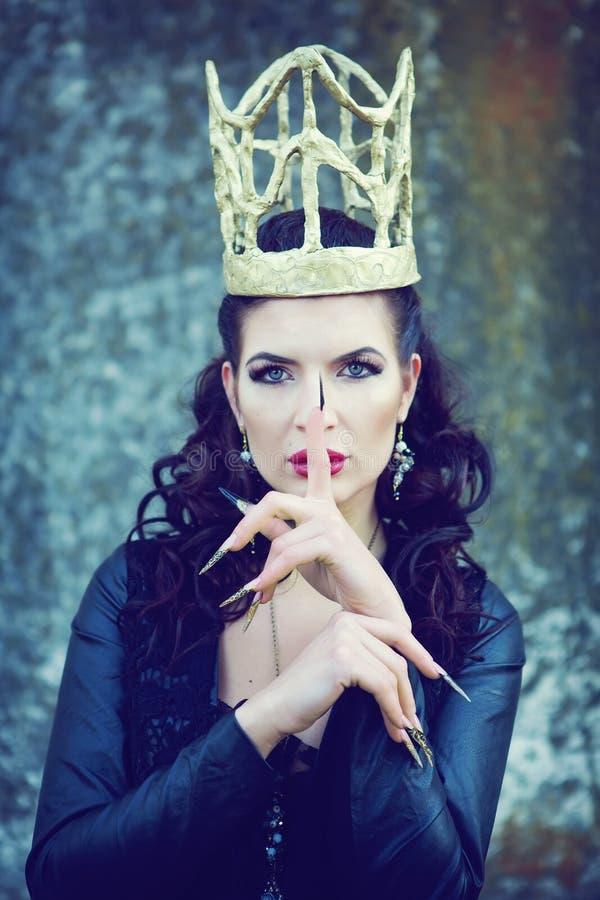 Dark queen royalty free stock images