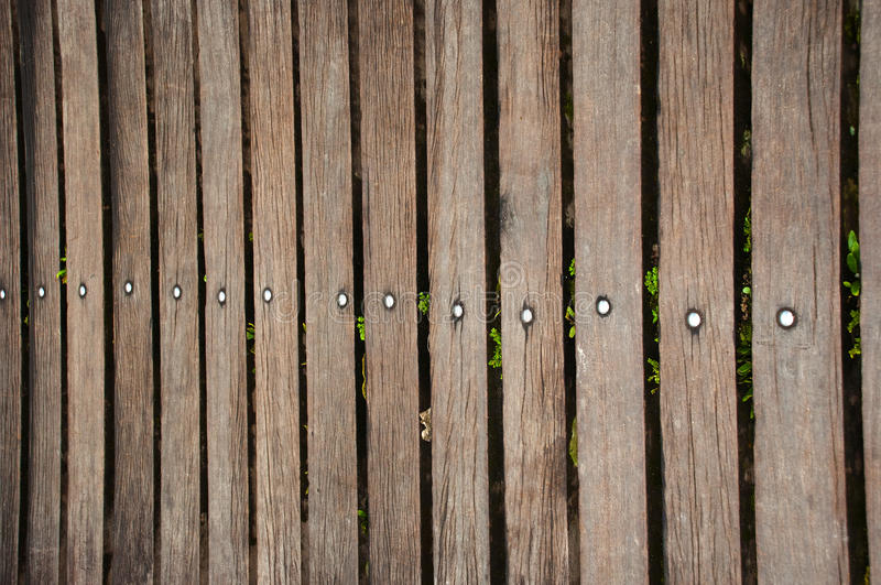 Dark real wood fence. Made of wooden fence (use of wood stock photography