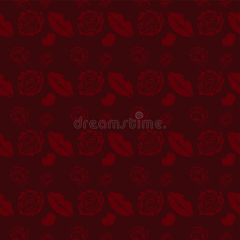 Download Dark Red Abstract Background Stock Vector - Image: 6825721