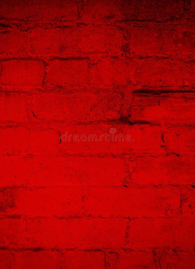 Dark Red Brick Grunge Background stock images