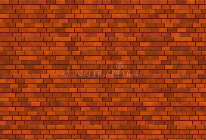 Download Dark Red Brick Wall Stock Illustration Of Strong