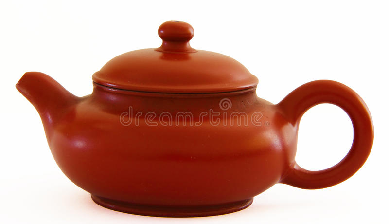 Download Dark-red Enameled Pottery Stock Photo - Image: 26842500