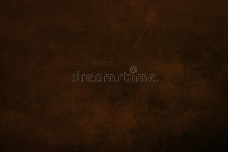 DArk red grungy canvas background or texture. Grungy painting draft background or texture royalty free stock photography