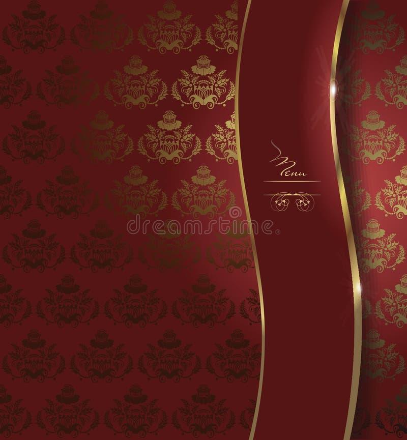 Download Dark Red Menu Background Stock Vector Illustration Of Wallpaper