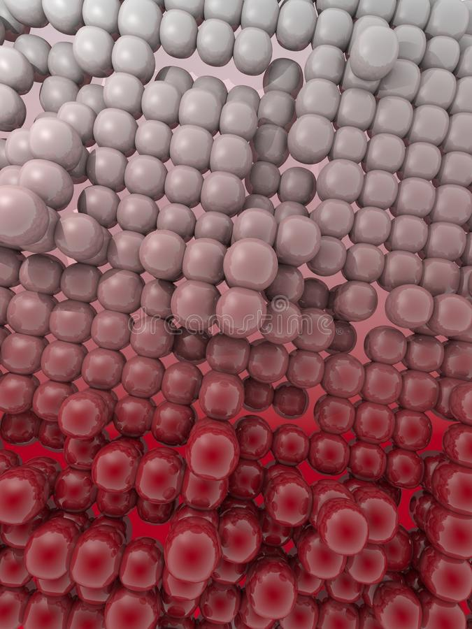 Dark Red  Pattern Buble Bubble Background Royalty Free Stock Photography