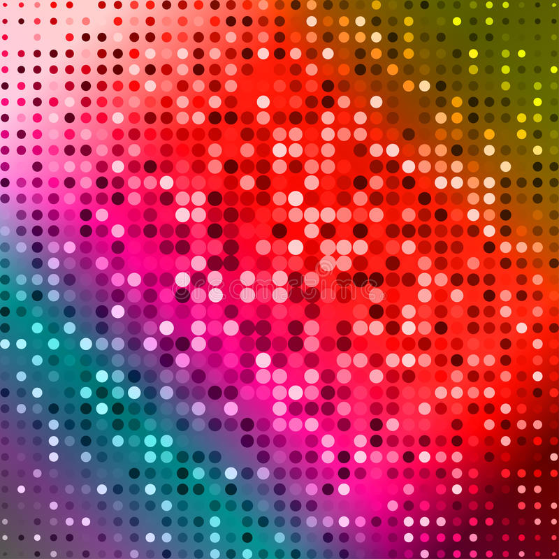 Dark Red Purple Blue Color Light Abstract Pixels