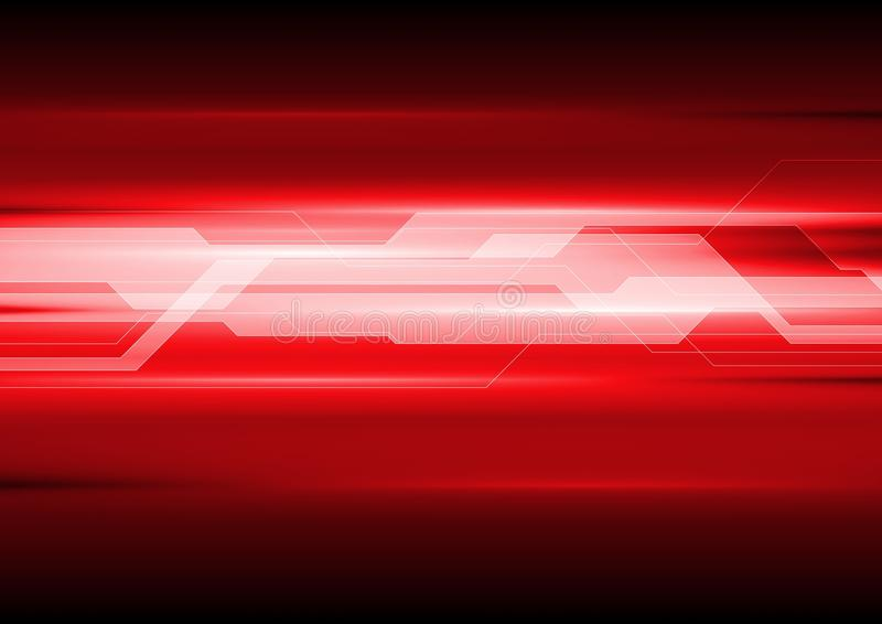 Dark red technical abstract background royalty free illustration