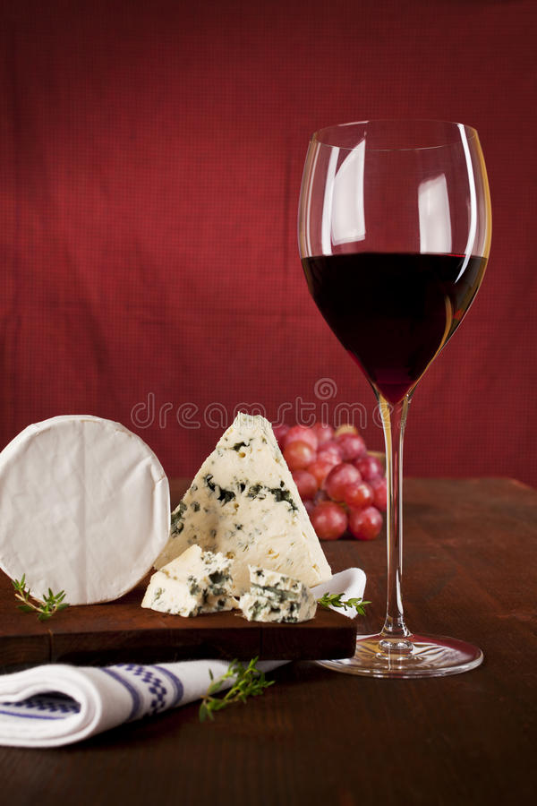 Download Dark red wine background. stock image. Image of cheese - 20982123