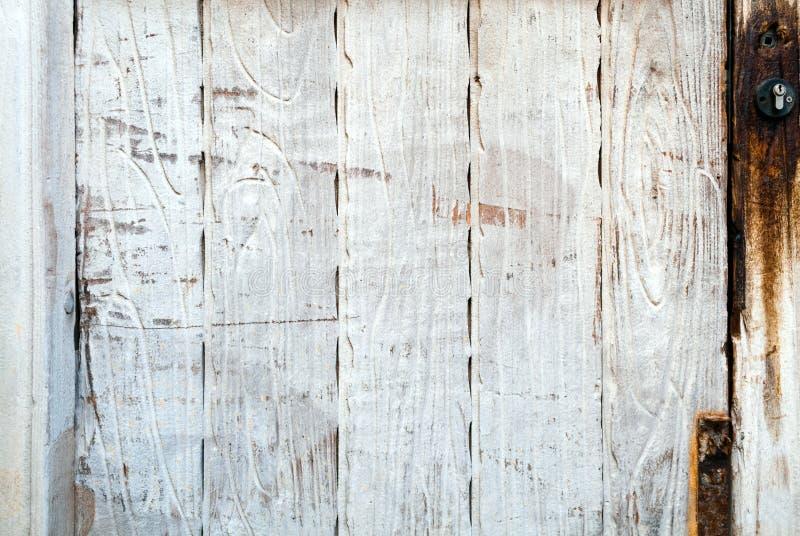Dark rustic wooden plank background stock photos