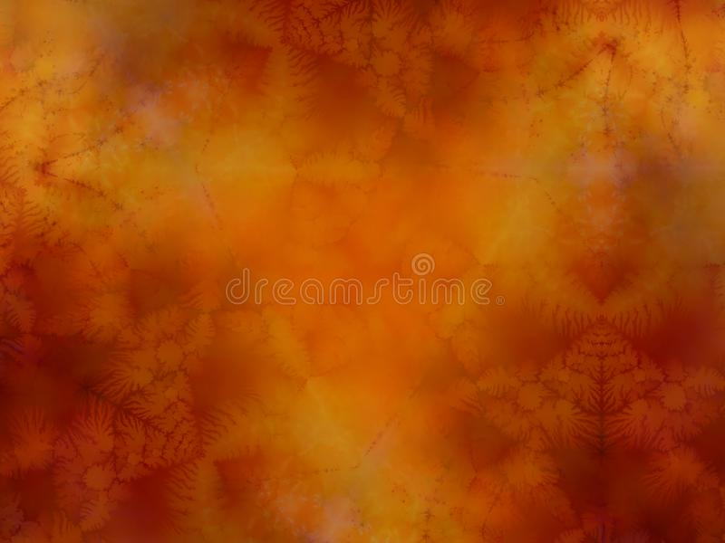 Dark Rusty Red Watercolor Print Pattern stock photography