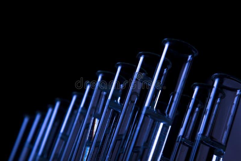Dark Science, Vials stock photos