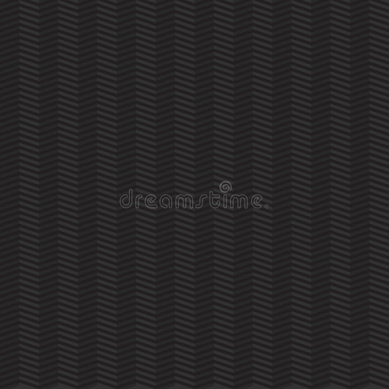 Dark seamless geometric pattern with zigzags stock illustration