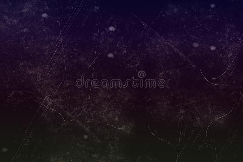 Dark abstract texture with dust and scratches, for any purposes, can be used as background pattern. Dark shabby background with dust and scratches, good for royalty free stock photos