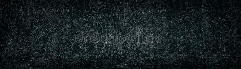 Dark shabby textured concrete slab wide backdrop. Gloomy grungy background. Dark shabby textured concrete slab long backdrop. Gloomy grungy background stock photos